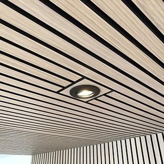 AcuWood akustikpanel med lampe
