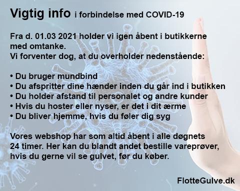Info om Covid-19