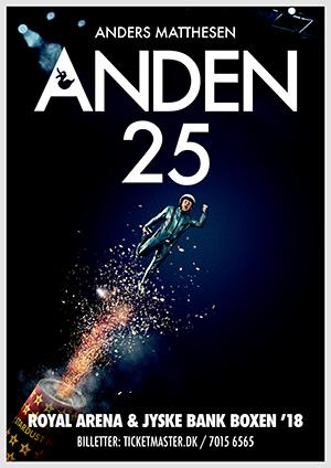 Vind billetter til Anden 25