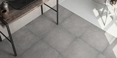 Trend Gris - Struktureret grå klinke med betonlook