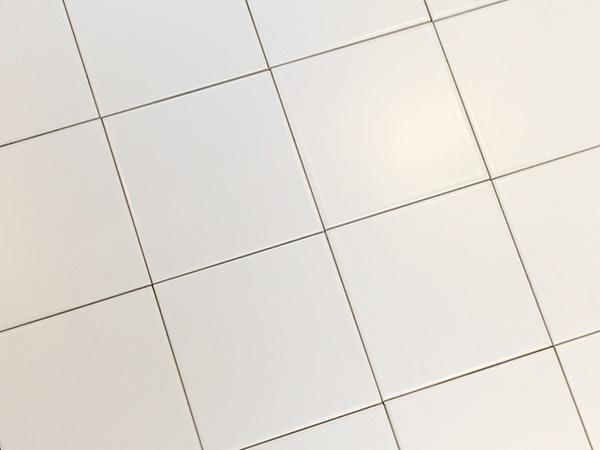 Vægflise i hvid