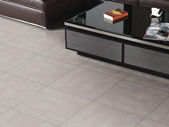 Cementi Gris - Glasseret grå klinke i cementlook