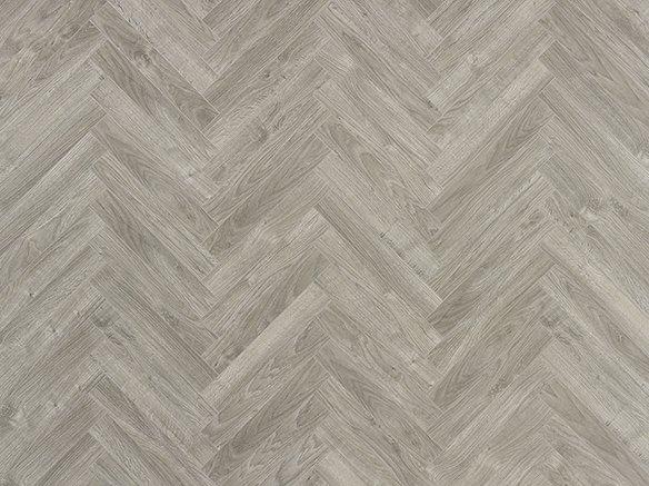 Laminatgulv grå