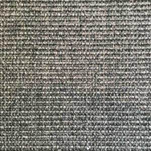 Fantastisk Sisal tæppe med bagside af latex i farven antracit ED15